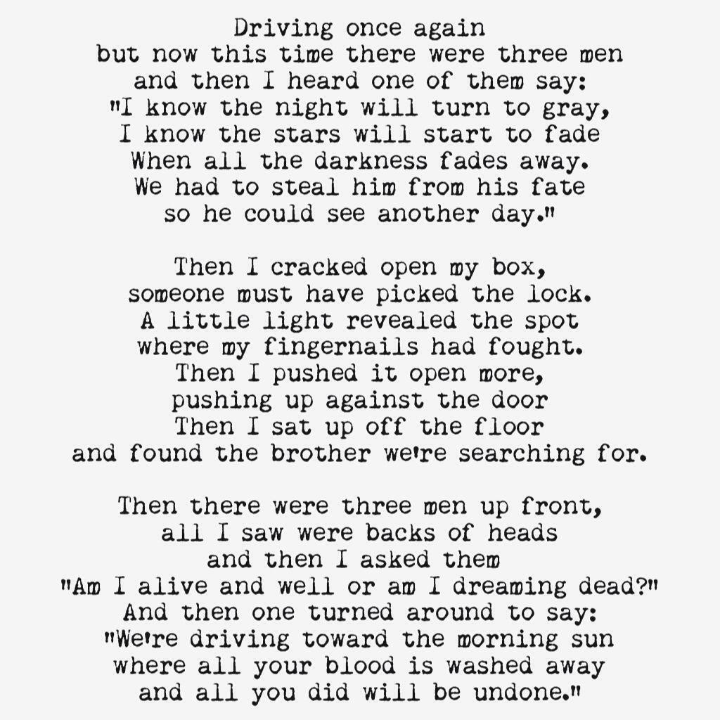 kitchen sink lyrics Their songs lyrics are like poetry