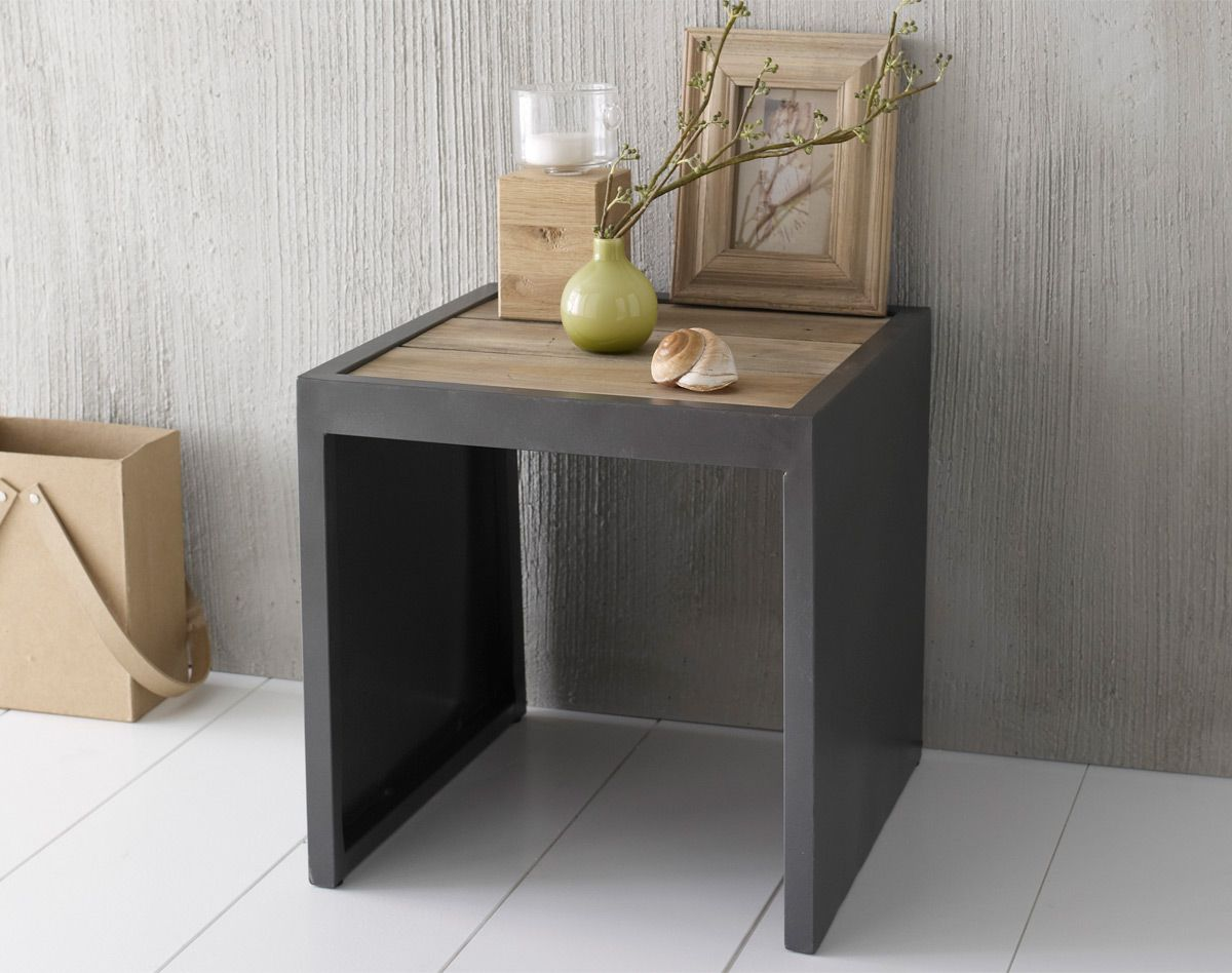 Table Chevet Metal Table Chevet Metal
