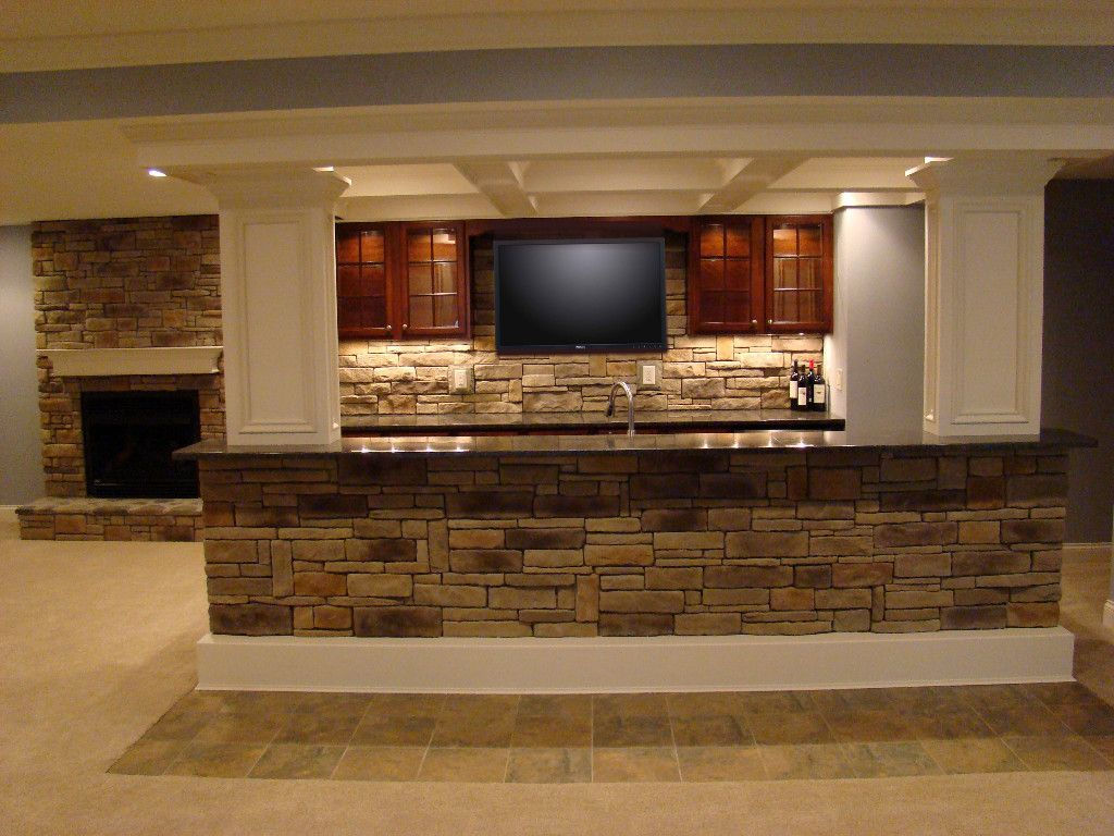 Basement Tv Ideas Big Screen Tv In The Finished Basement Kitchen Yes Please