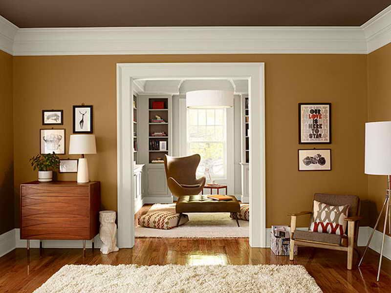 Warms Living Rooms Paint Color appealing picture above, is part - paint schemes for living rooms
