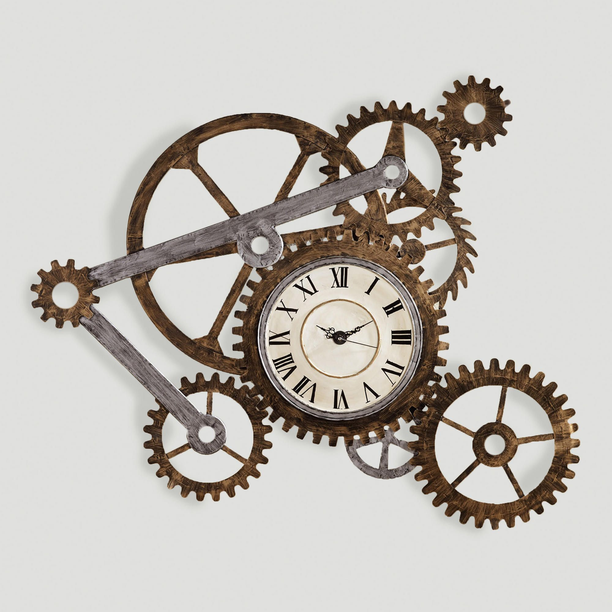 Wall Art Clocks Gear Wall Art With Clock Clocks Walls And Steampunk House
