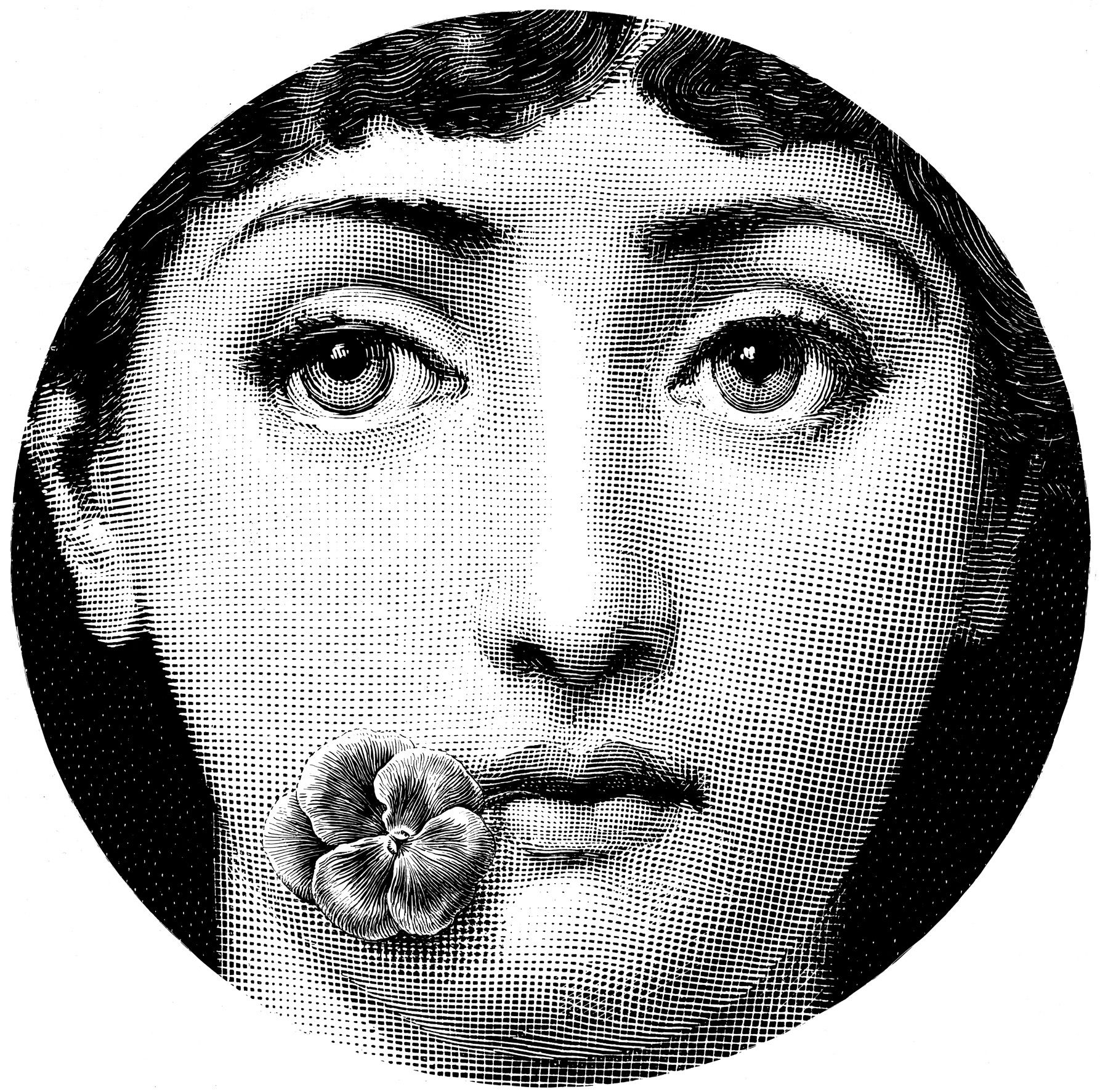 Fornasetti Face Wallpaper Fornasetti Szukaj W Google Transfer Inscriptions