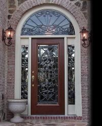 exterior doors with glass | Super Glass Designs - Leaded ...