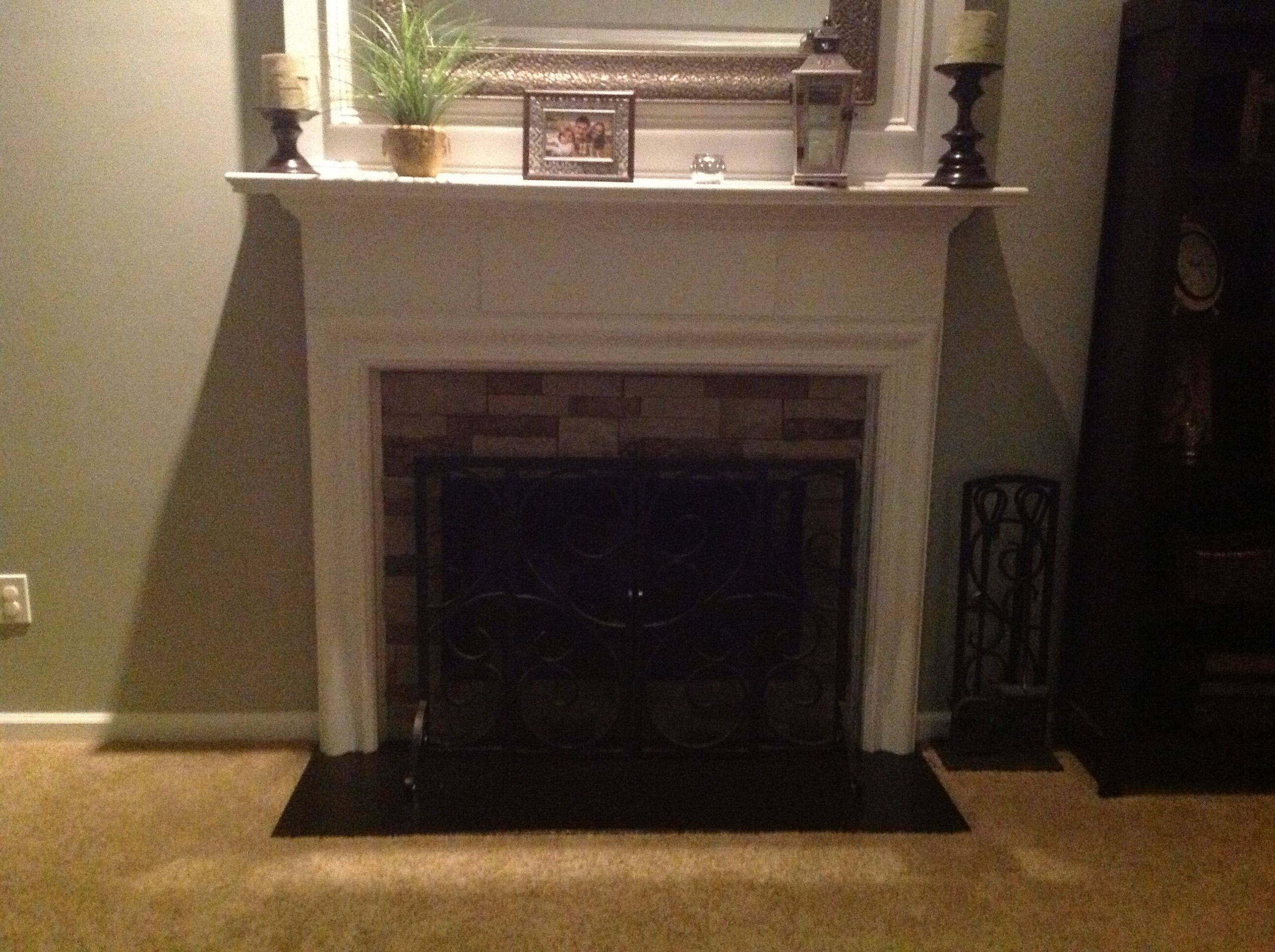 Home Depot Faux Stone Faux Stone Fireplace Border Called Airstone At Home Depot