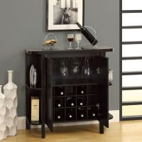 storage bar wine rack | Bar Unit with Bottle and Glass ...