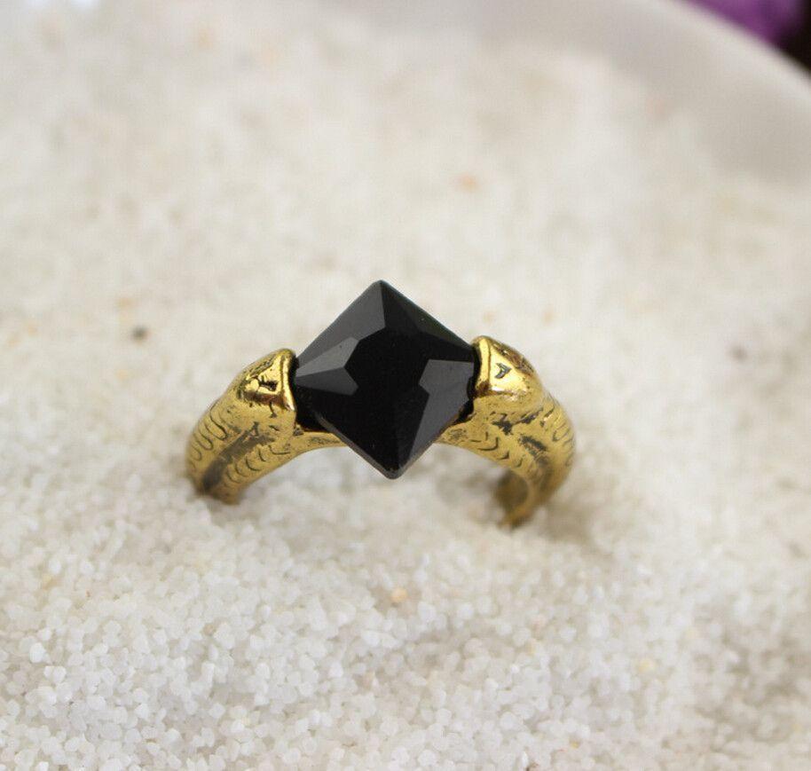 harry potter wedding bands Harry Potter Horcrux Sorcerer s Stone Ring Resurrection Cosplay Ring