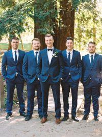 Organic Style Wedding in Sacramento | Hugo boss suit ...