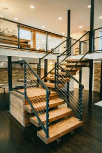 Fixer Upper | Modern stairs, Rustic modern and Modern