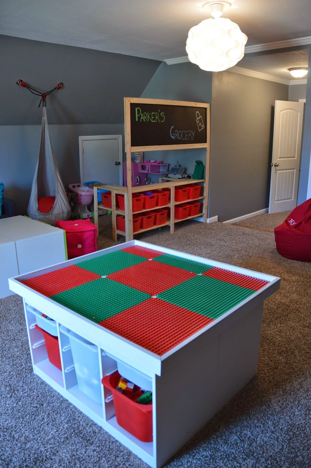 Ikea Diy Ikea Diy Lego Table And Grocery Store Pretend Play My