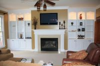 built in wall units with fireplace - Bing Images | Home ...