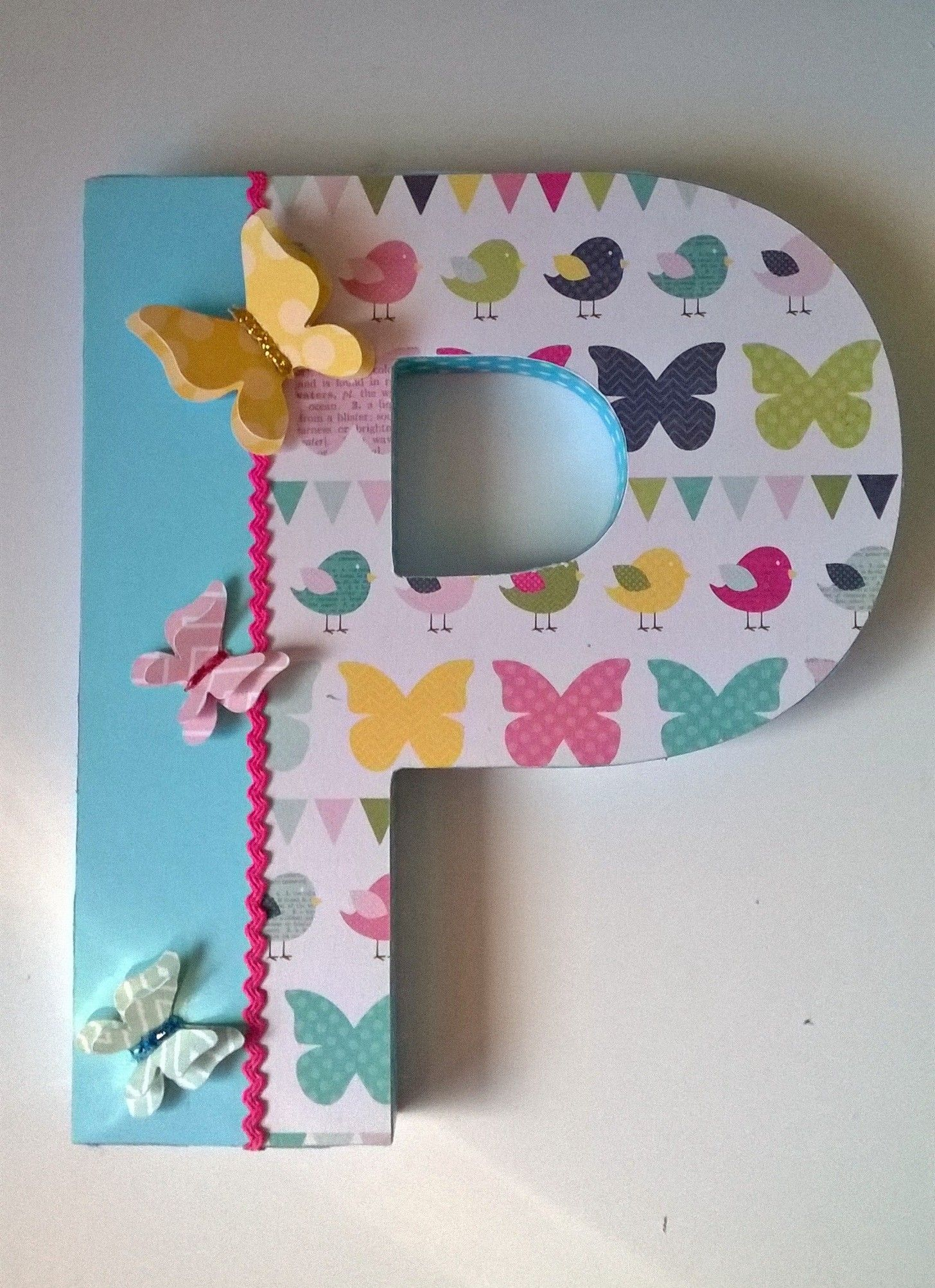 Letras Decoradas Scrap Letras Decoradas Altered Letter Scrapbook Scrap
