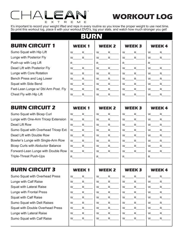 chalean extreme workout sheets - Google Search workout - workout program sheet