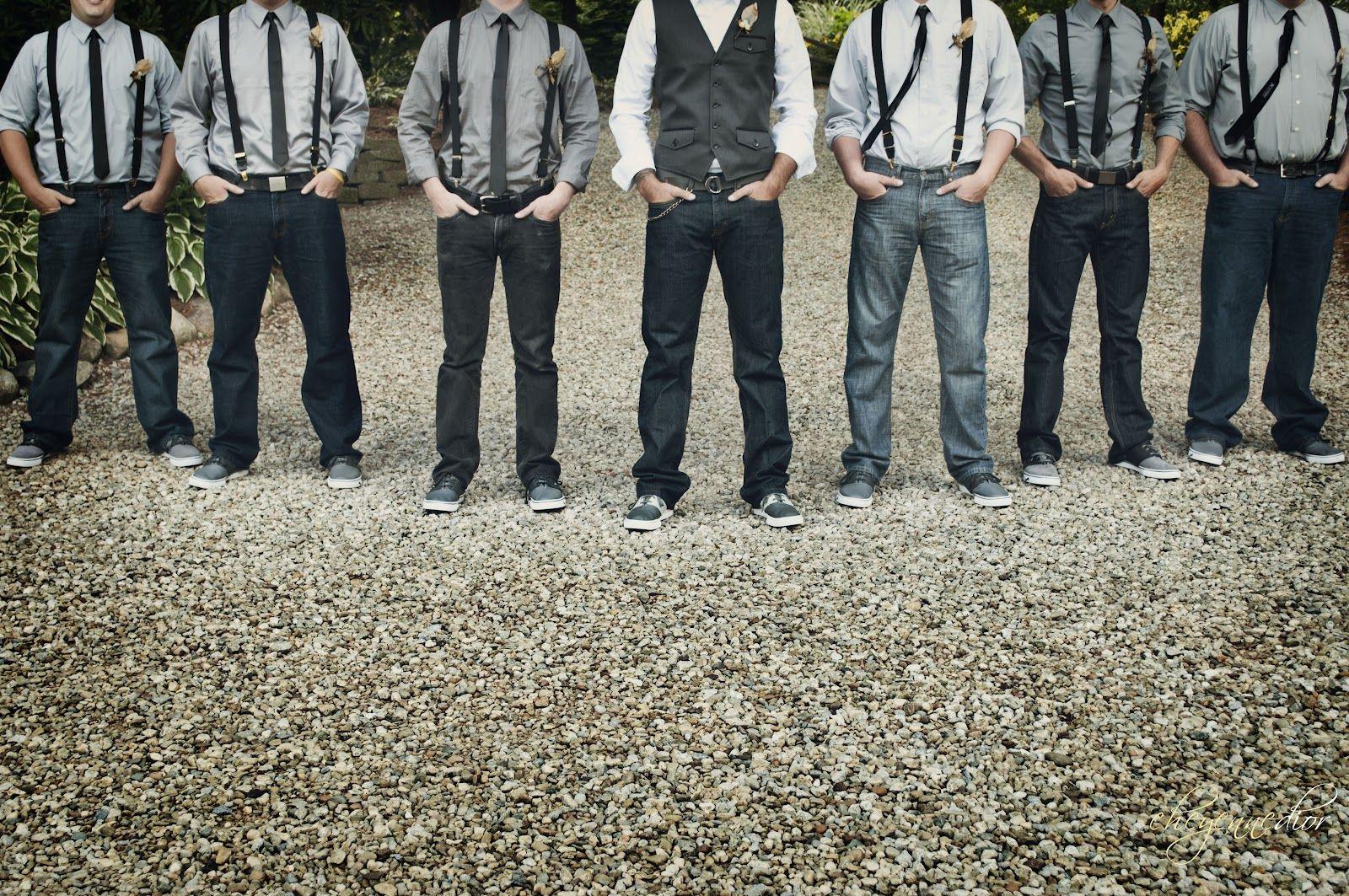 Groomsmen Skinny Ties