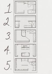 master bath layout options... thinking outside the box | h ...