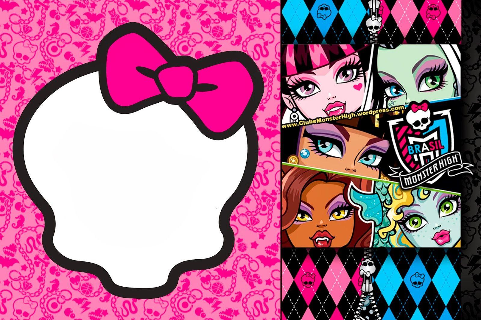 Monster High Invitations On Pinterest Monster High