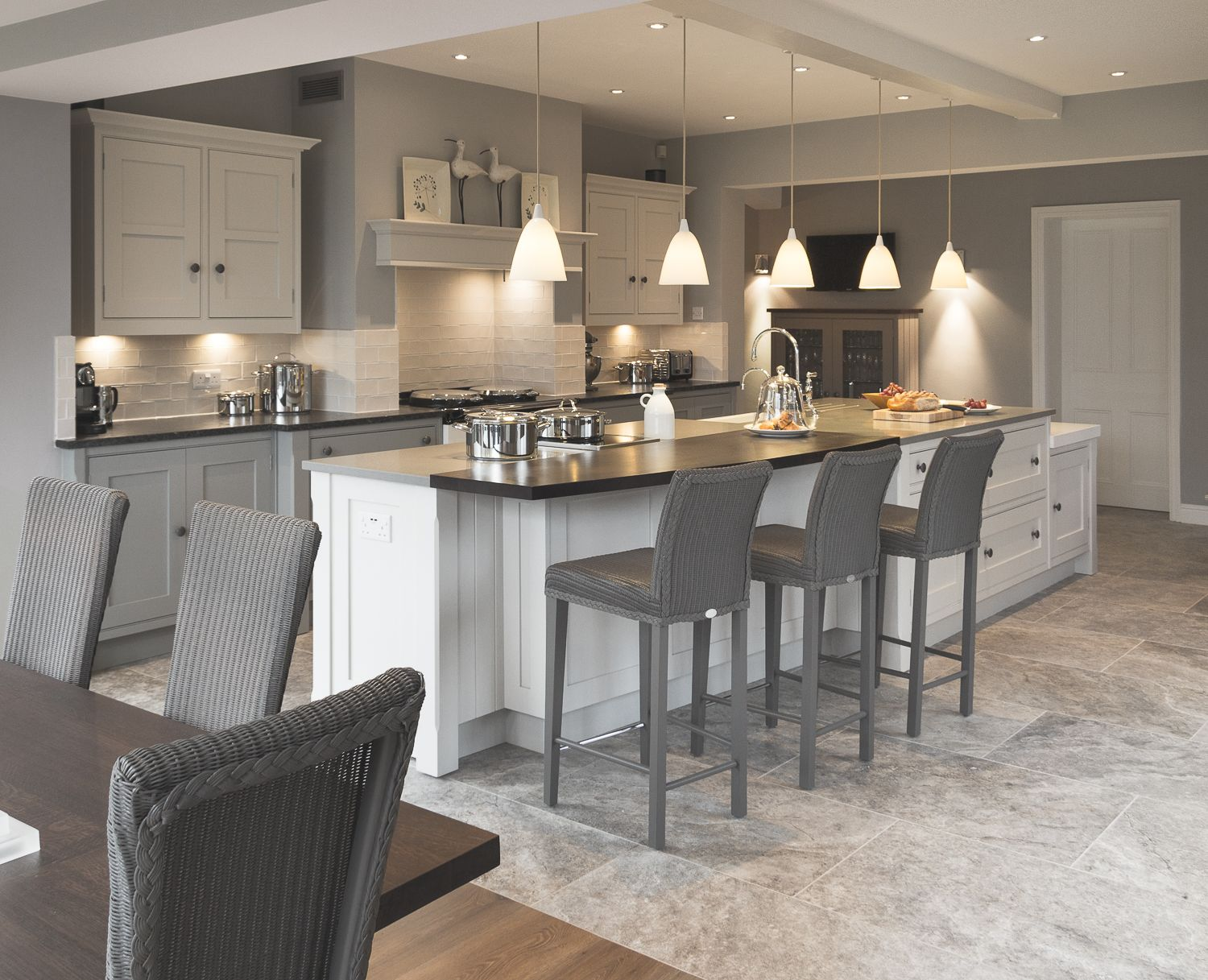 Pinterest Cabinets Kitchen A Bespoke Shaker Kitchen Designed By Cheshire Furniture