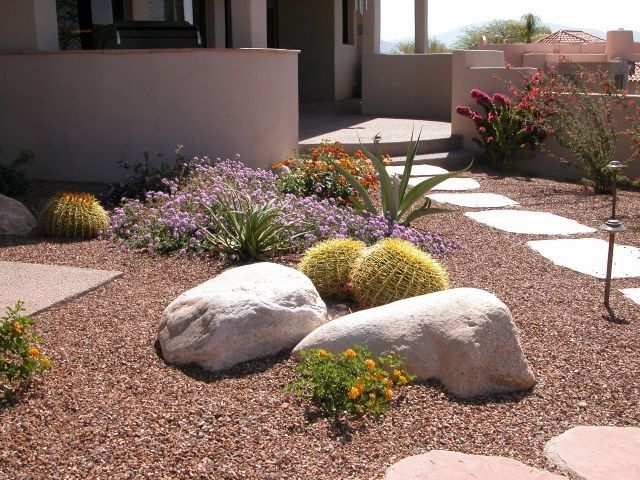 desert walkway ideas
