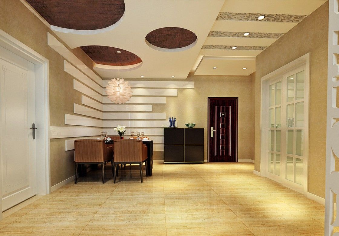 Stylish dining room ceiling design modern fall ceiling design dining baalco