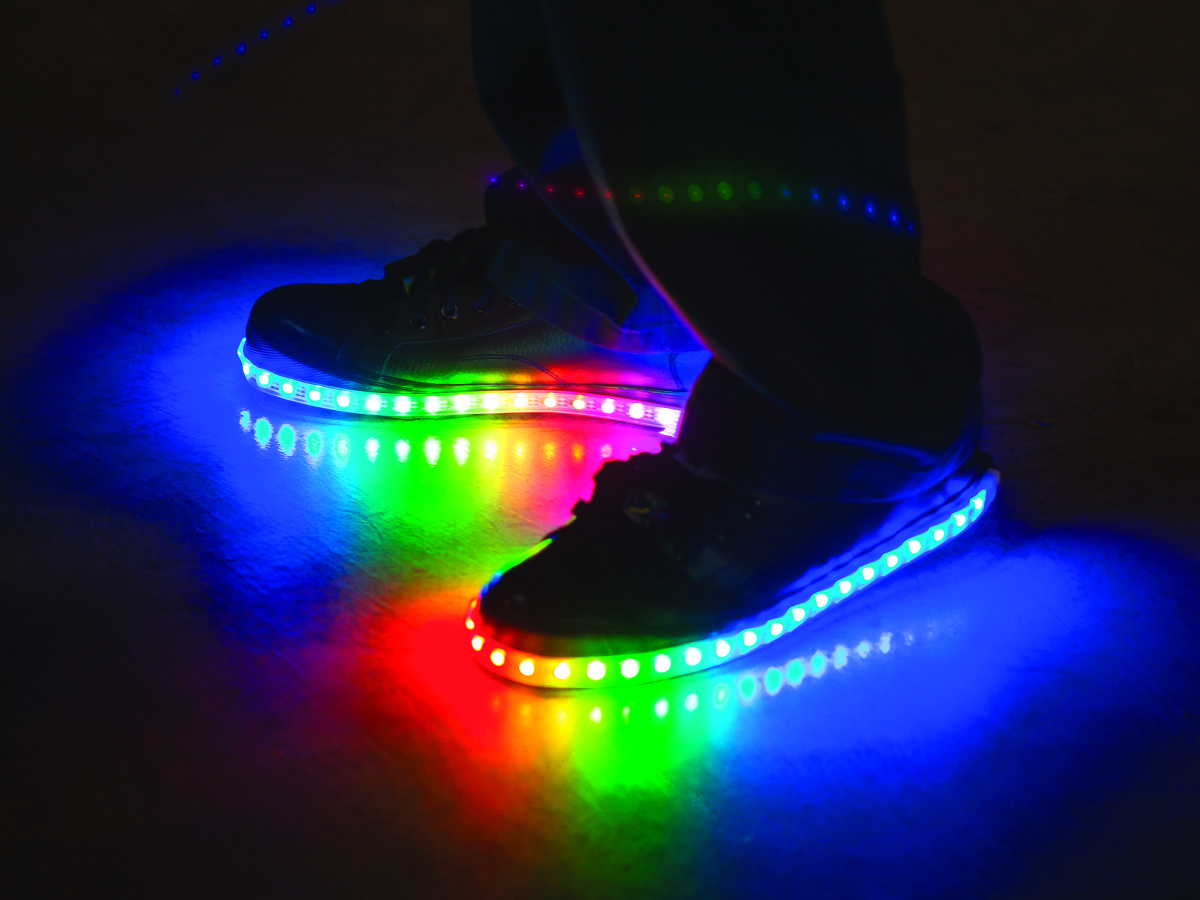 Boys Lights Luminous Lowtops Childhood Rainbows And Up Shoes