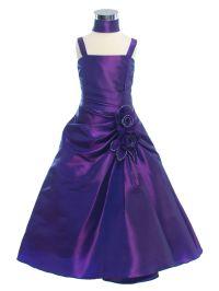 purple flower girl dresses - Google Search | Wedding ideas ...