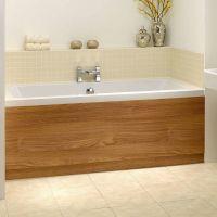 Oak Wooden Bath Panel 1700 Victoria 49 or in white ...