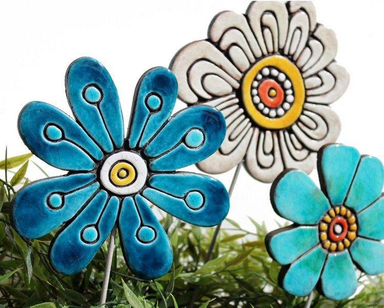 keramik ideen für den garten Töpfern Ideen für den Garten u2013 20 - tolle ideen fur den garten