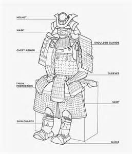 samurai shoe diagram