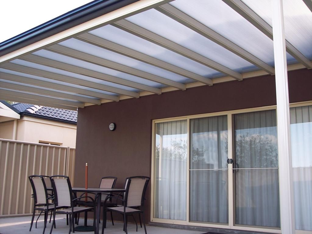 Bunnings Timber Window Awnings Polycarbonate Flat Roof Carports Polycarbonate Roofing