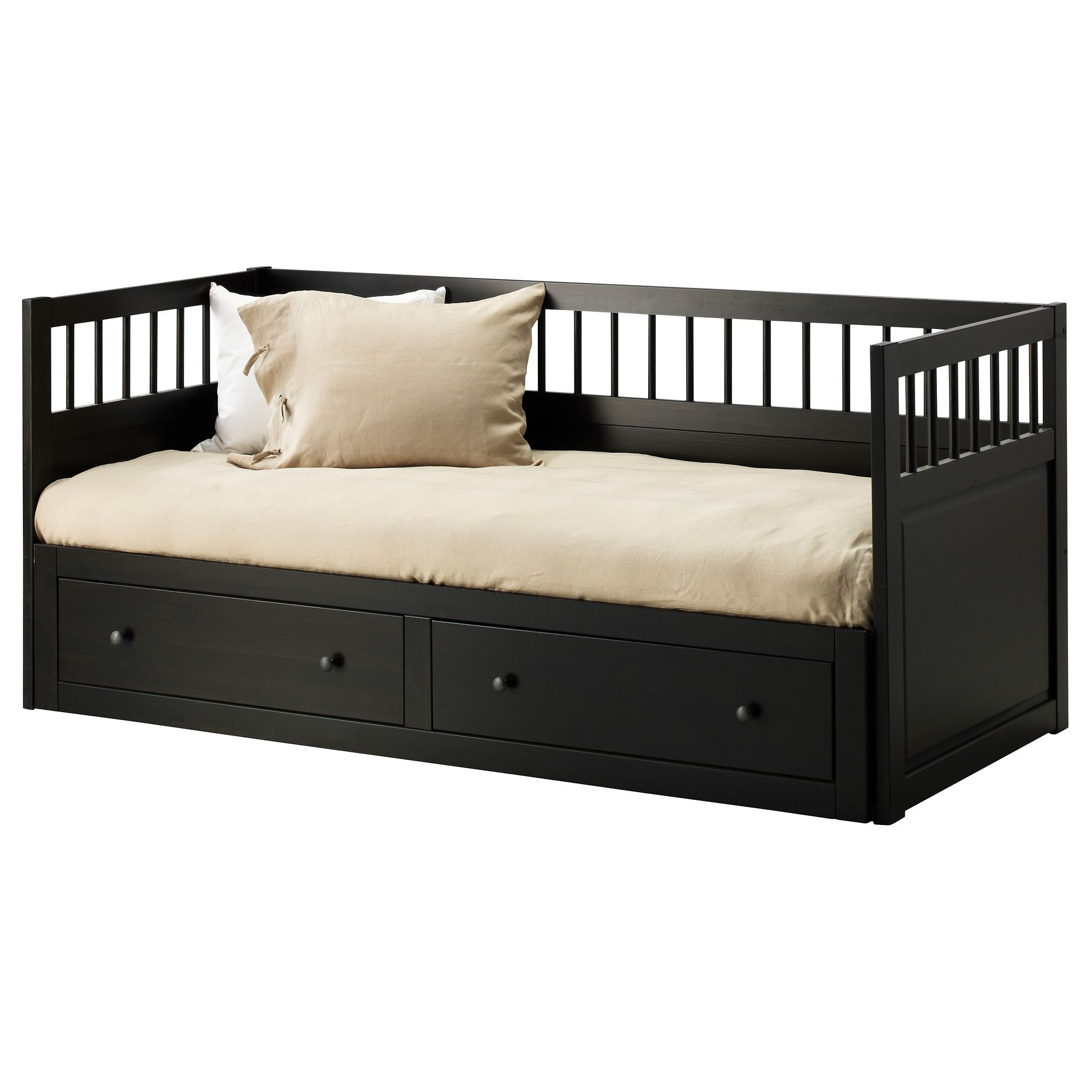Uitschuifbaar Bed Ikea Hemnes Daybed Frame With 2 Drawers - Ikea For When The
