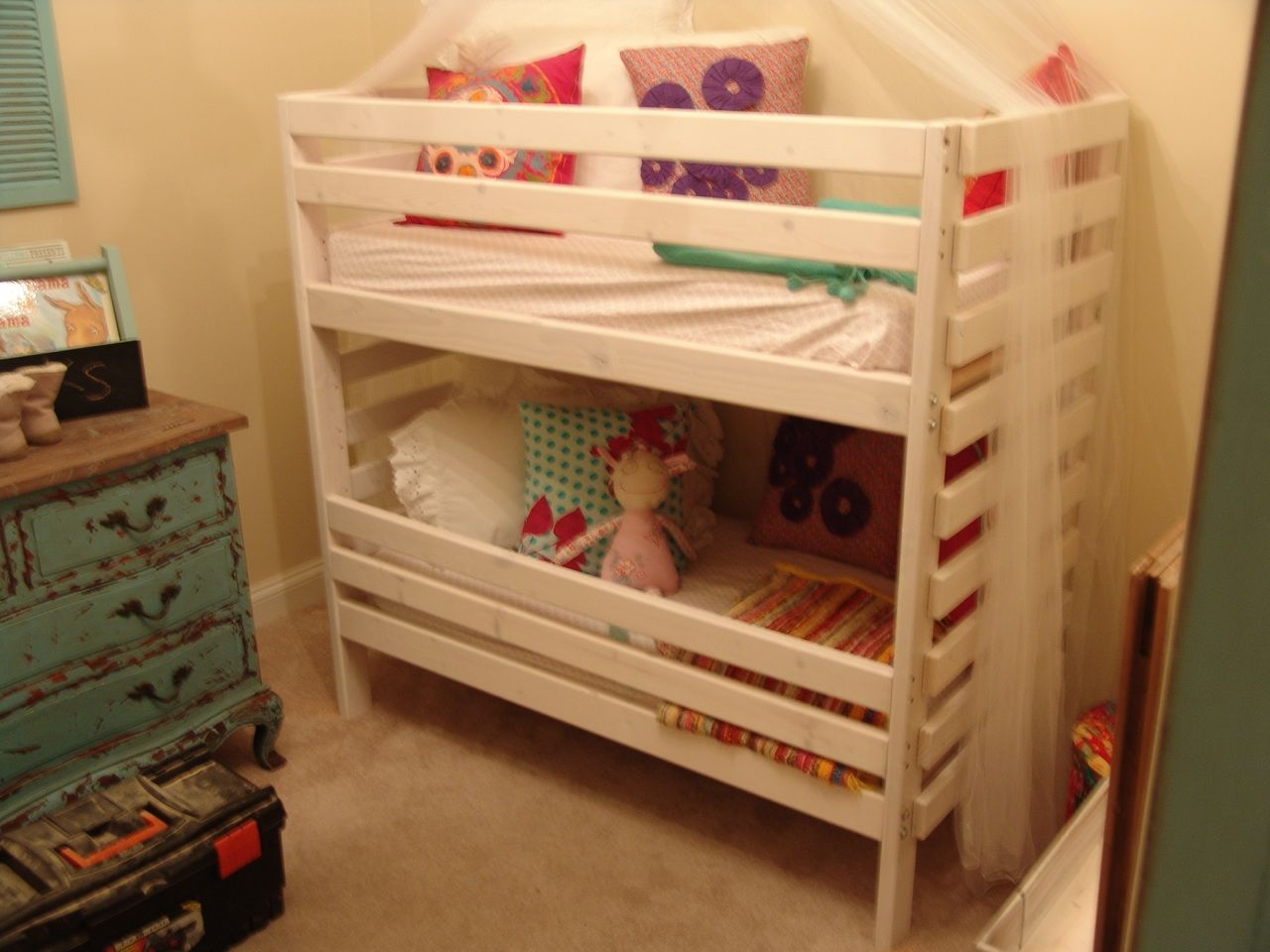Toddler Bunks Toddler Bunk Bed Only 48 Quot Tall And Designed To Use Crib