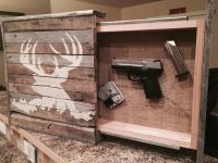 Rustic Wall Art with Hidden Storage by HandyDadWorkshop on ...