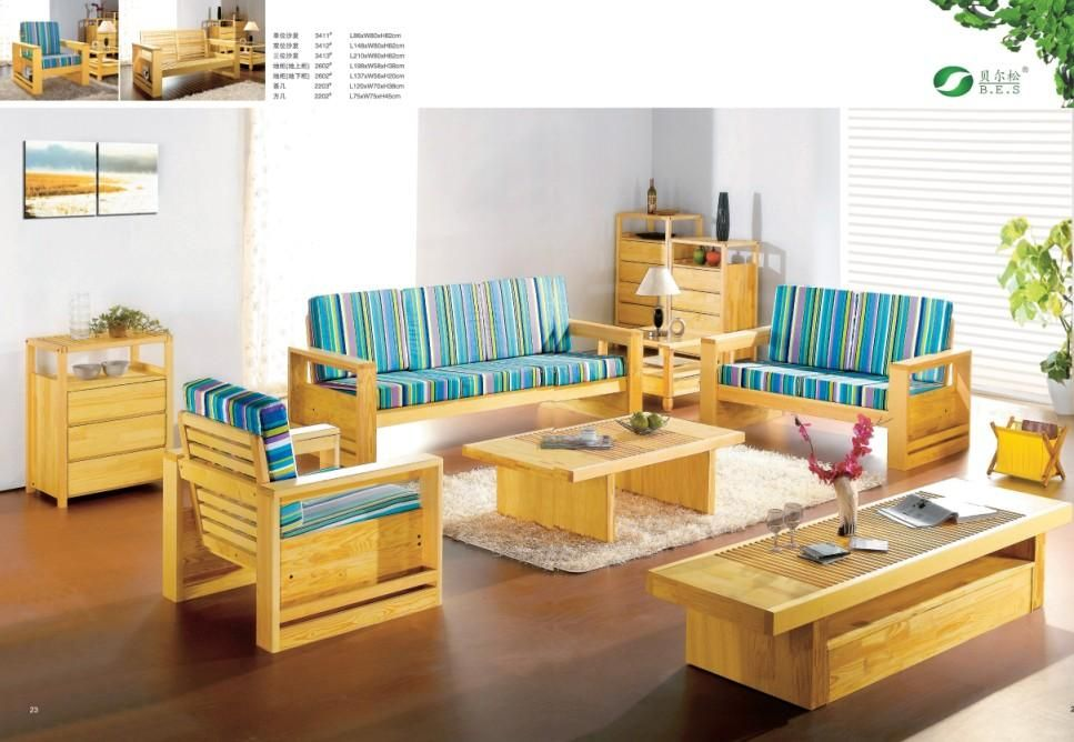 Latest Wooden Sofa Designs For Drawing Room Pretty furniture - wood living room furniture