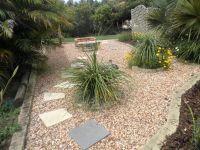 Ides portfolio - Landscaped garden design using pebbles ...
