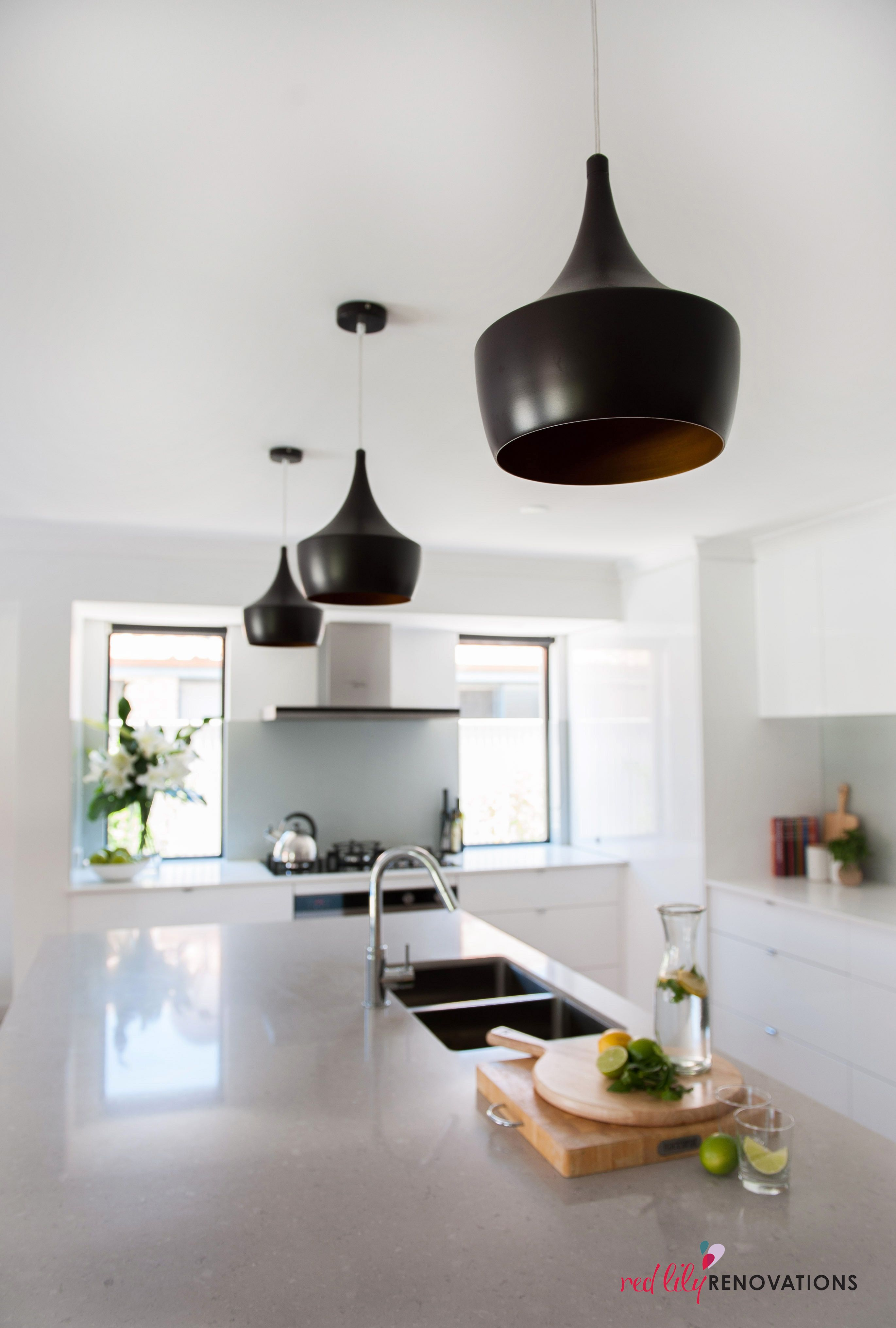 Beacon Pendant Lights These Black Feature Lights Are Gorgeous In This Concrete