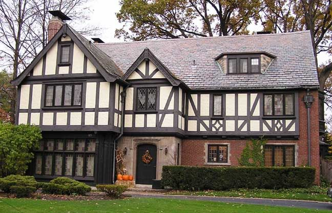 I Wouldn'T Mind Living In A Tudor Style House At Some Point. There