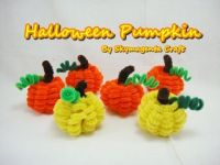 Pipe Cleaner Craft - Halloween Pumpkin - Quick and Easy ...