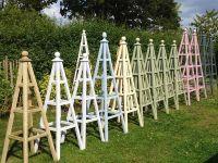 Wooden Obelisks For Garden  Garden Ftempo