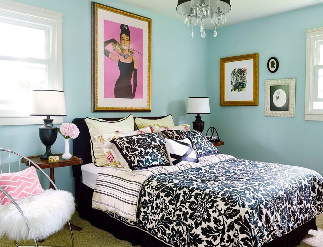 Glamorous Bedrooms Ideas Small Guest Bedroom Hollywood Glamour Decor Small