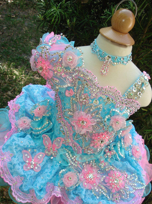 National glitz pageant dress custom order by nana marie designs 975 00 via etsy