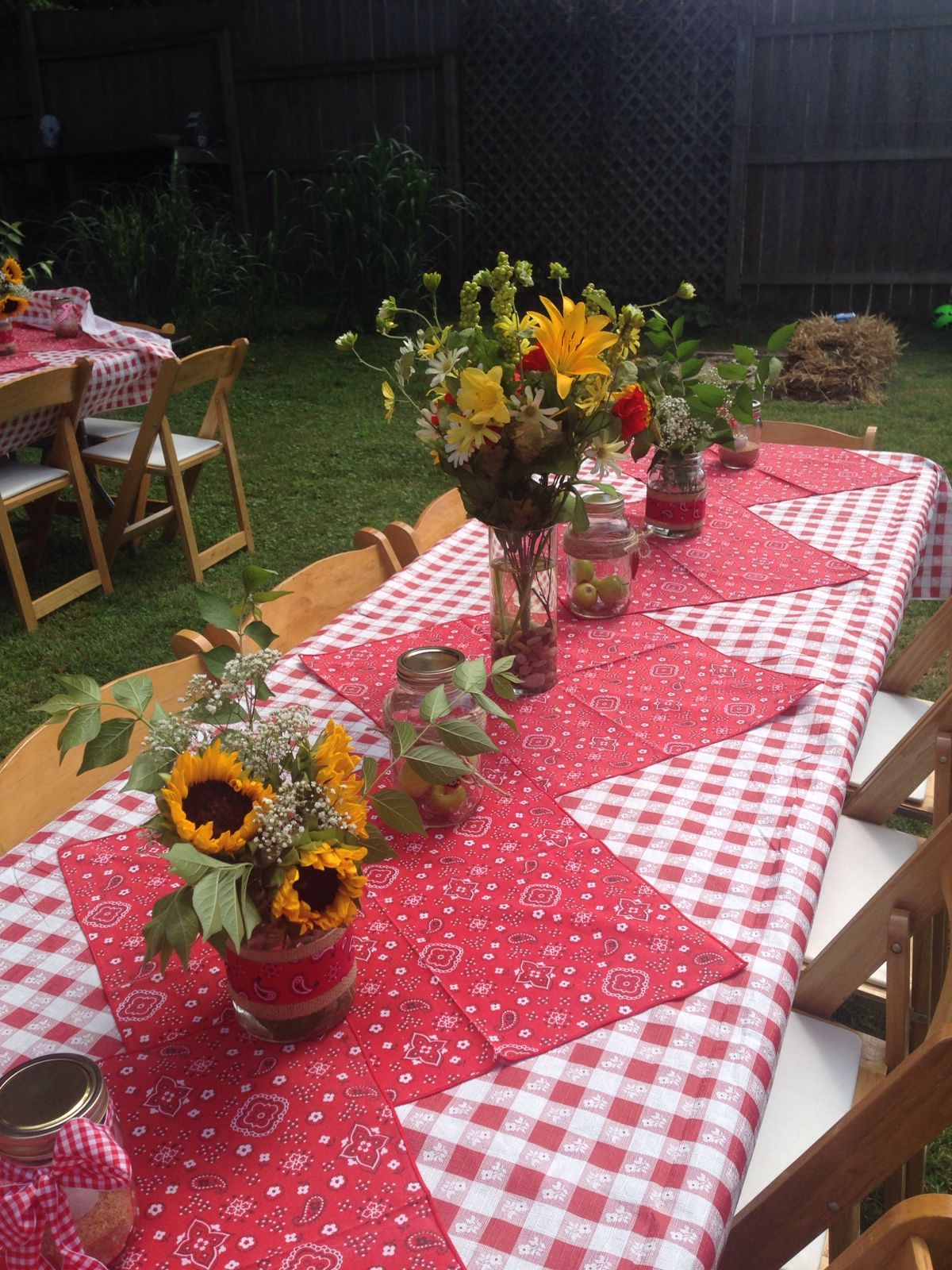 Picnic Themed Decorations Our Picnic Themed Outdoor Rehearsal Special Events