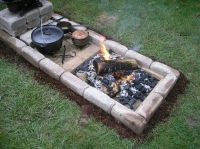 Dutch oven cooking pit | prepardness | Pinterest | Dutch ...