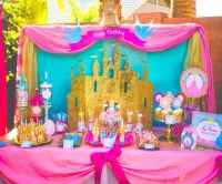 PINK PRINCESS Party - SIGNS- Girls Birthday Party - Pink ...