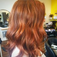 Soft Ginger Red Waves Auburn Hair Color Ideas