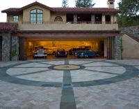 Fantastic Modern Garage Design In Deluxe House Neoteric ...