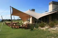 Stretch Tent Awning. For semi permanent flexible outdoor ...