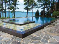 rectangle pool spa center - Google Search   backyard ideas ...