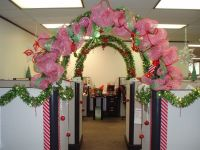 Holiday Cubicle Contest | Cubicle, Office cubicles and ...