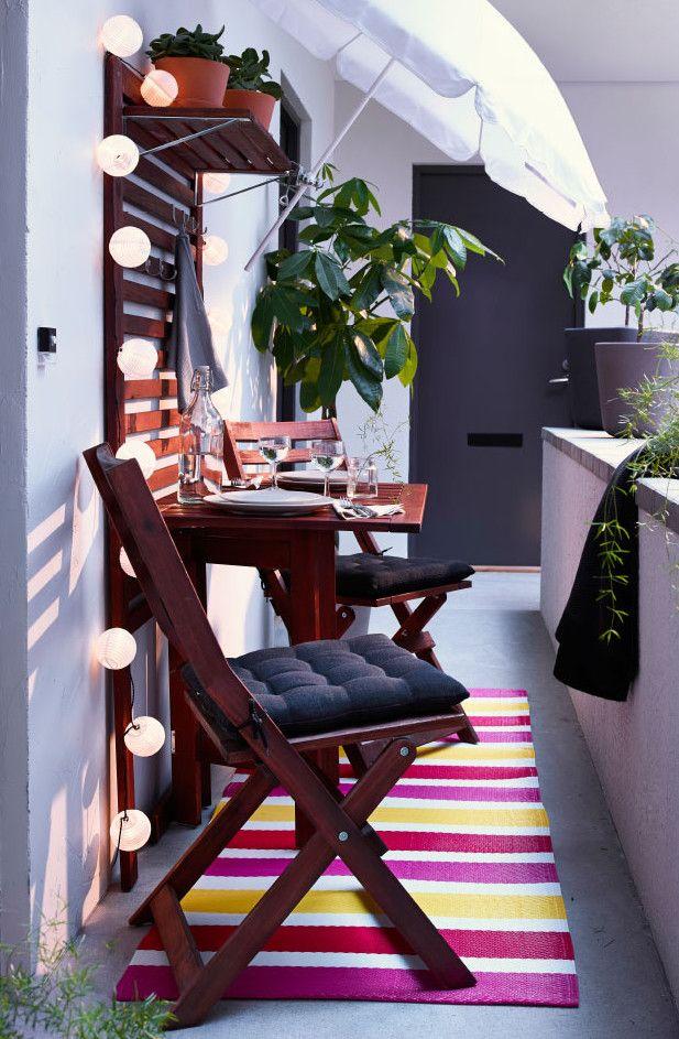 Der Balkon - kleiner balkon gestalten als unser kleines Wohnzimmer - mini balkon gestalten