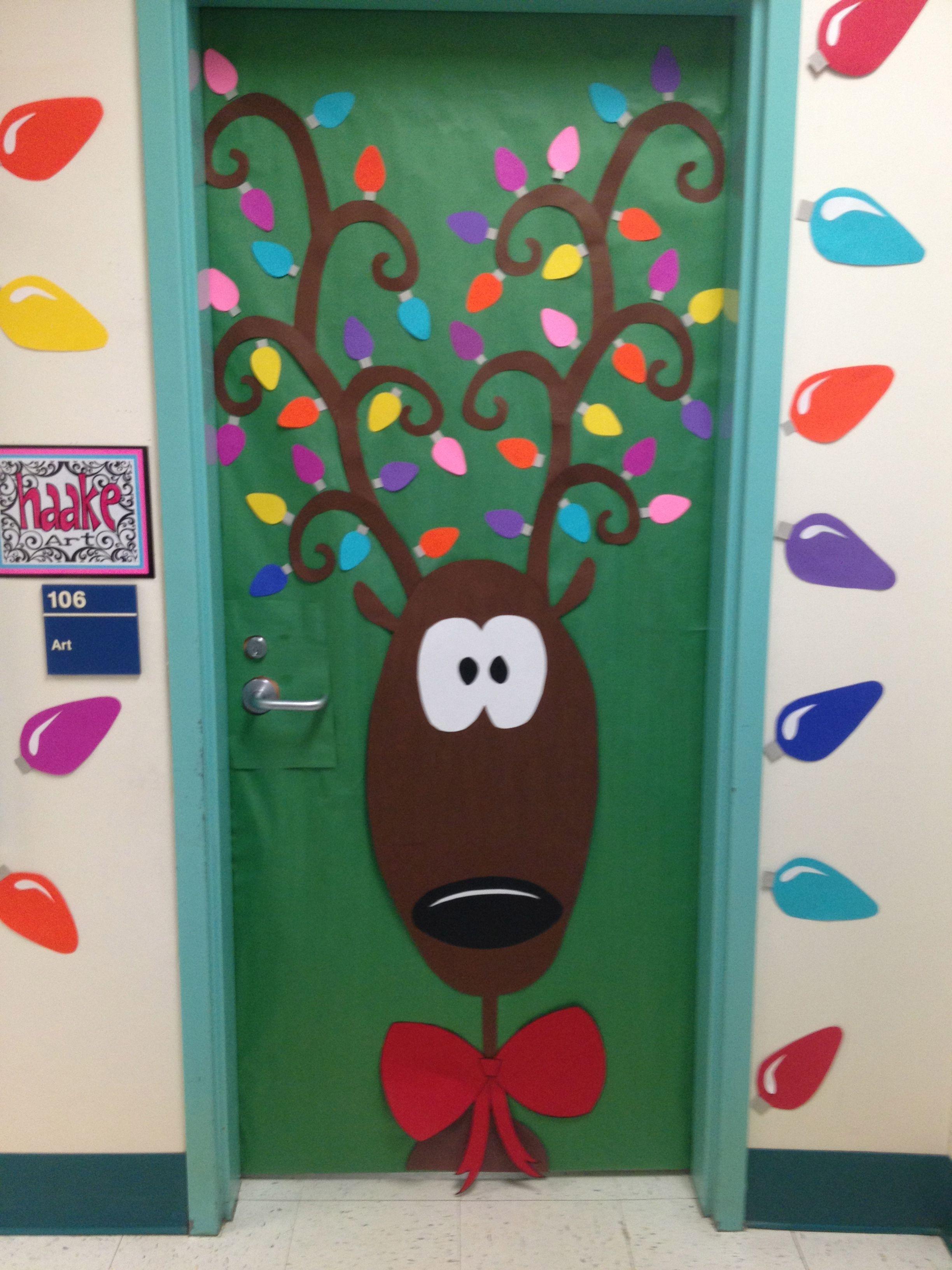 Bulletin boards classroom doors and part 3 christmas door decorationschristmas