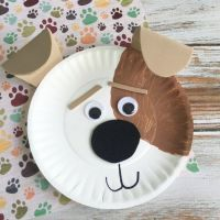 Max Dog Paper Plate Craft (Craft Gawker) | Paper plate ...